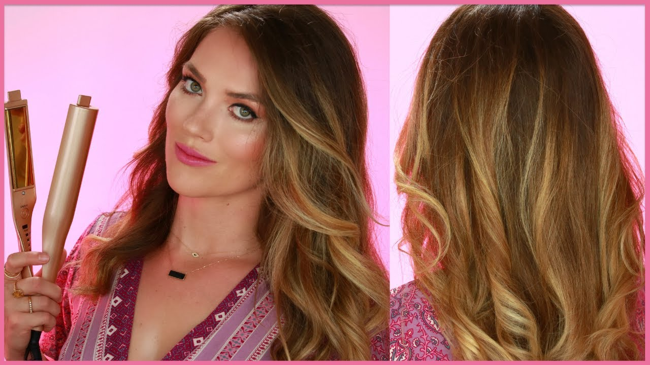 How To Curl Your Hair For Big Soft Beach Waves 7